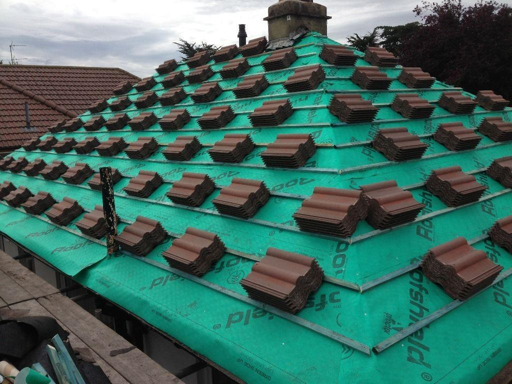 Tiling on Pitch Roofs
